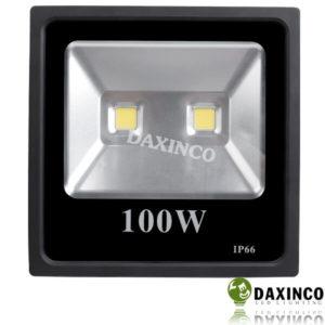 Đèn pha led 100W Daxinco dẹp