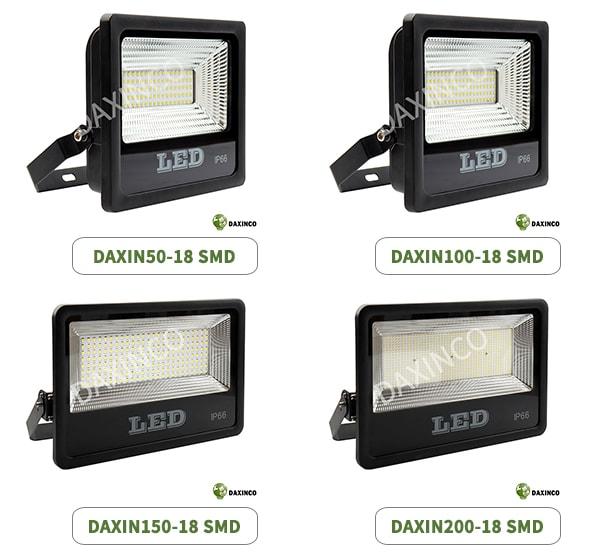 Dòng đèn pha led SMD Daxinco