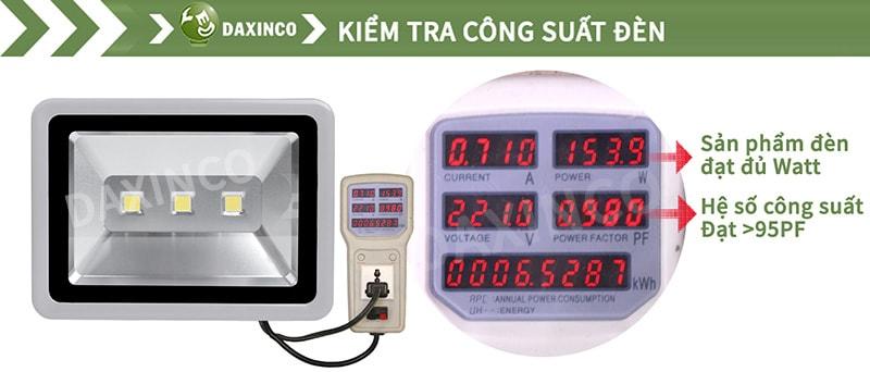 Kiểm Tra công suất đèn pha led 150W-1