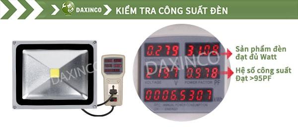 Kiểm Tra công suất đèn pha led 30W-1