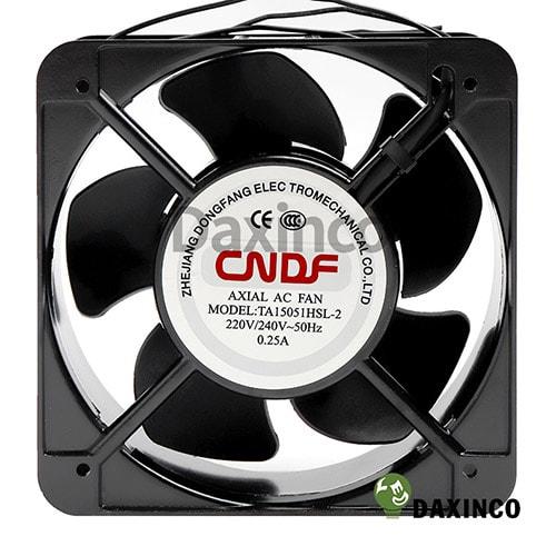 Quạt hút nhiệt 150x150 220v AC 0.25A 1