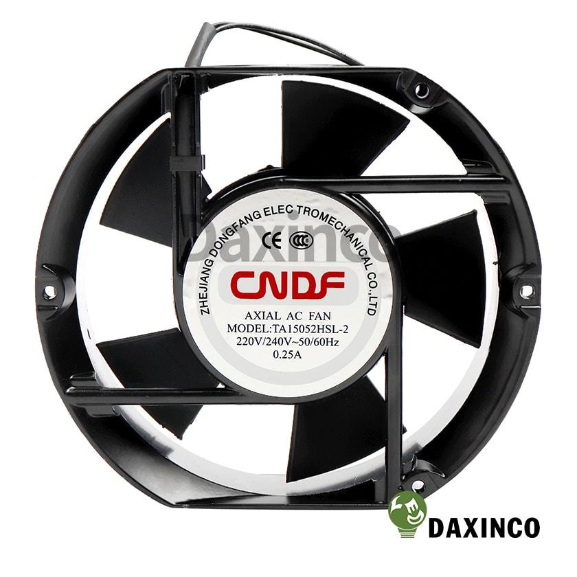 Quạt hút nhiệt tròn 150x150 220v AC 0.25A 1