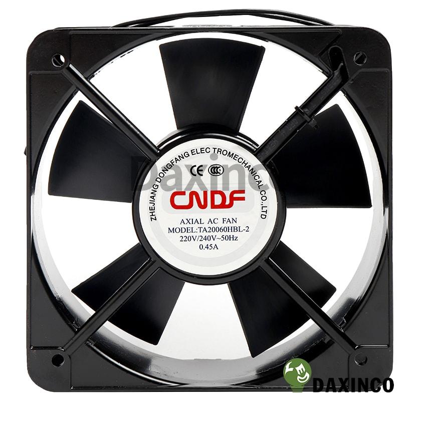 Quạt hút nhiệt 200x200 220v AC 0.45A 1