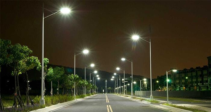 Đèn đường led cho hiệu suất ánh sáng rất tốt