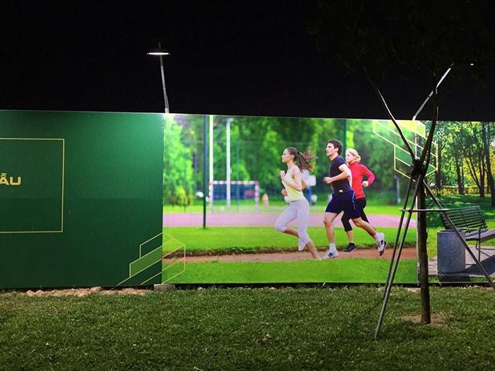Hệ thống chiếu sáng cho dự án xây dựng khu đô thị Bà Rịa City Gate