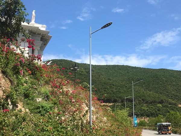 Cung cấp hệ thống đèn đường led cho toàn bộ khu vực Vila Vinpearl Nha Trang