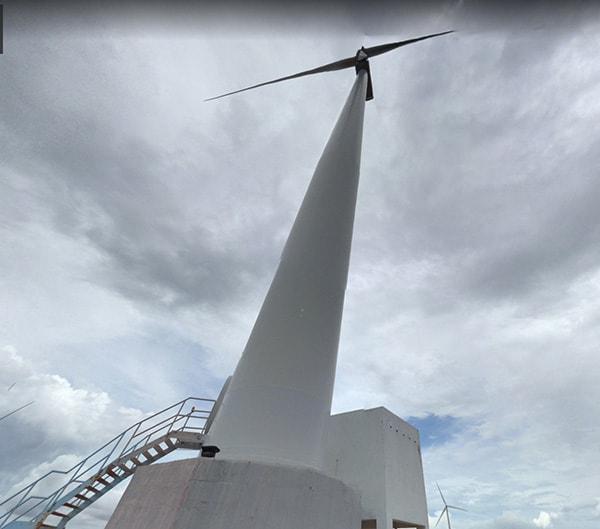 Cung cấp đèn pha led cho trụ gió điện