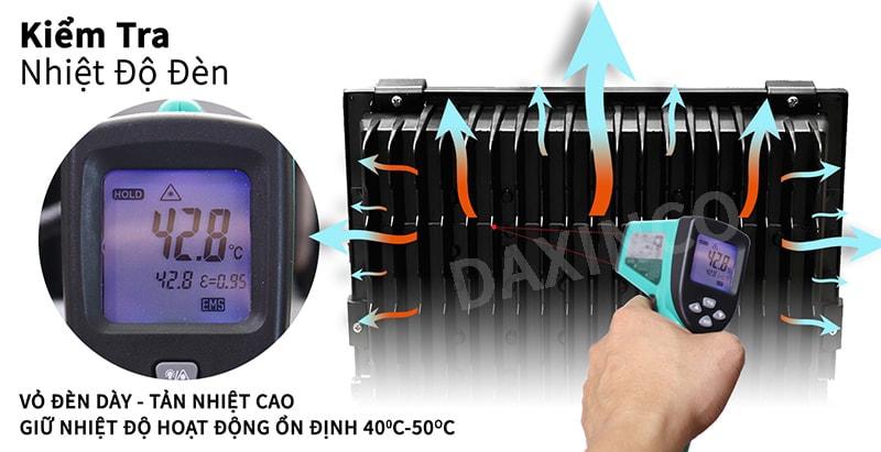 Kiểm tra nhiệt độ đèn Philips 200W Daxinco