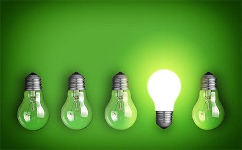 Sử dụng đèn led thay thế đèn dây tóc để tiết kiệm điện