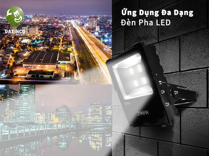 Ứng dụng đèn pha Philips 200W