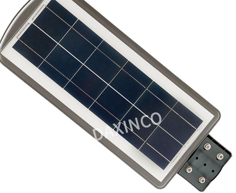 Đèn đường năng lượng Mặt Trời sử dụng Pin Poly