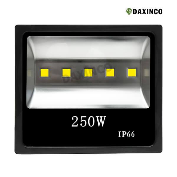 Đèn pha led 250w Daxinco kiểu dẹp 1