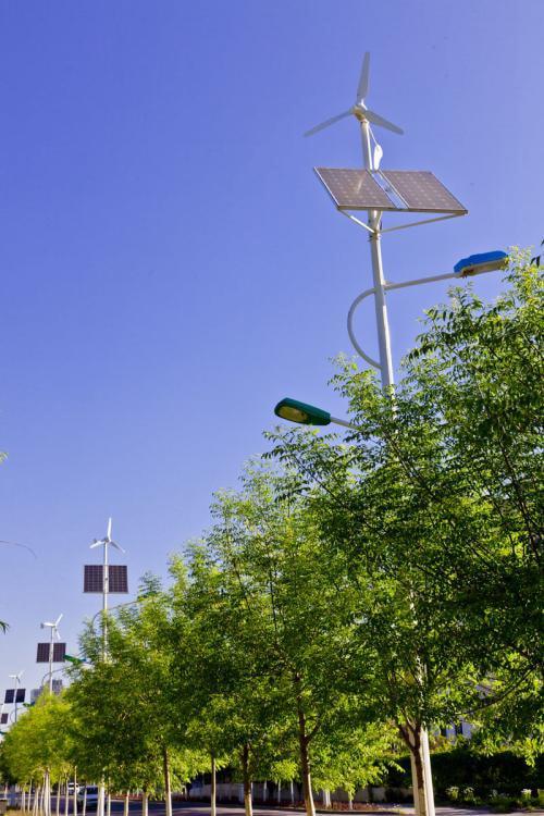 Lắp đèn đường năng lượng mặt trời cao hơn vật cảng bóng râm