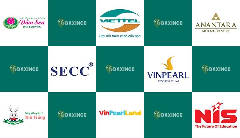 Những thương hiệu Daxinco từng cung cấp sản phẩm