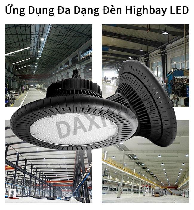 Ứng dụng đèn highbay 150W Daxinco