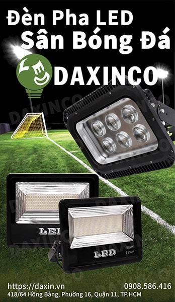 Công ty đèn pha sân bóng đá Daxinco