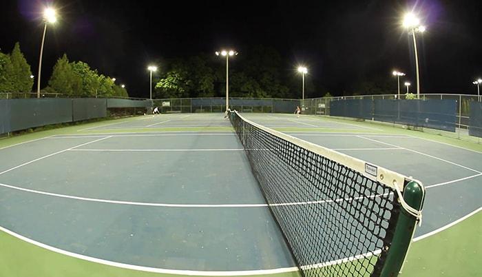 Dòng đèn pha phù hợp cho sân tennis