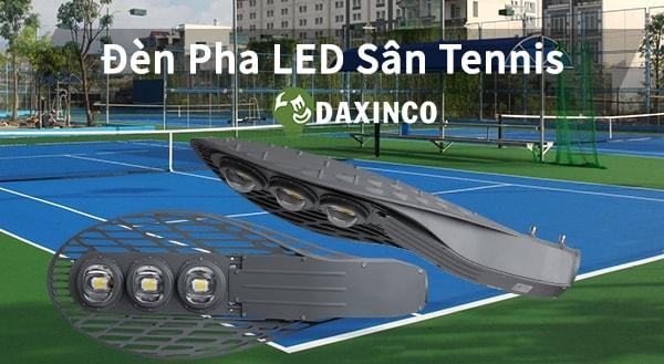 Đèn pha sân tennis Daxinco