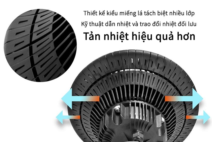 Tản nhiệt đèn led highbay 50W - 70W