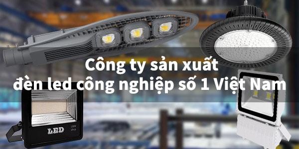 Đèn led công nghiệp giúp giảm thiểu chi phí thay thế, bảo trì
