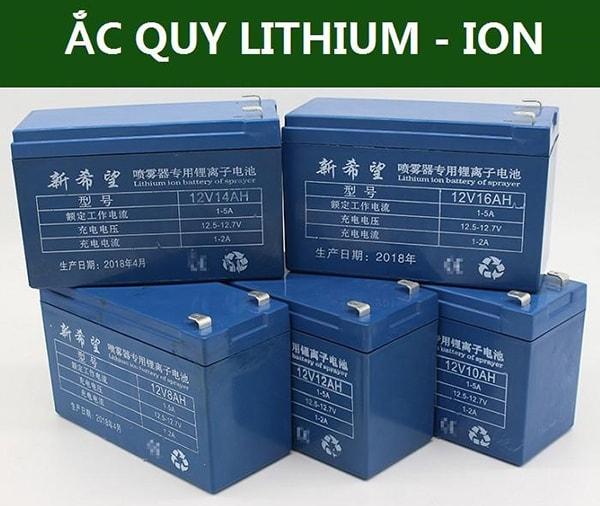 Ắc quy lithium thuộc vào loại cao cấp nên sẽ có giá tương đối cao