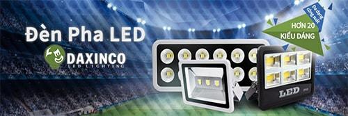 DAXINCO hiện là một trong những công ty phân phối đèn pha led số 1 tại Cần Thơ