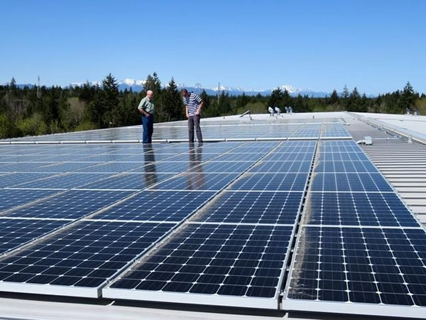 Hệ thống năng lượng mặt trời hòa lưới hay còn gọi tắt là SPGS