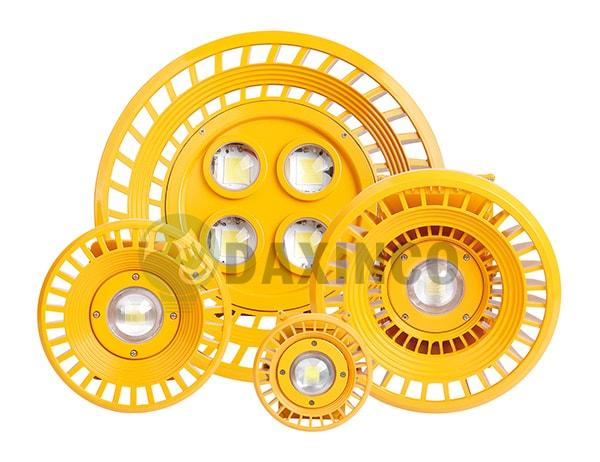 Công suất đa dạng của đèn chống cháy nổ led
