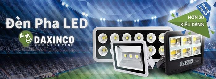 Đèn pha LED Daxinco - Thiết bị được người dân Bến Tre tin tưởng