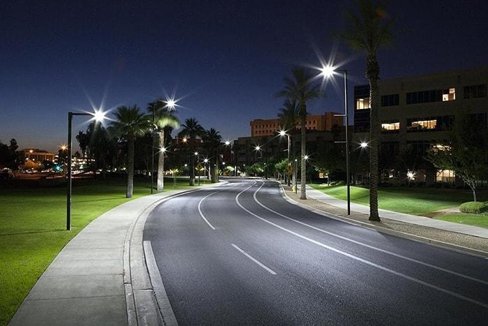 Ứng dụng của đèn đường led kiểu chiếc lá