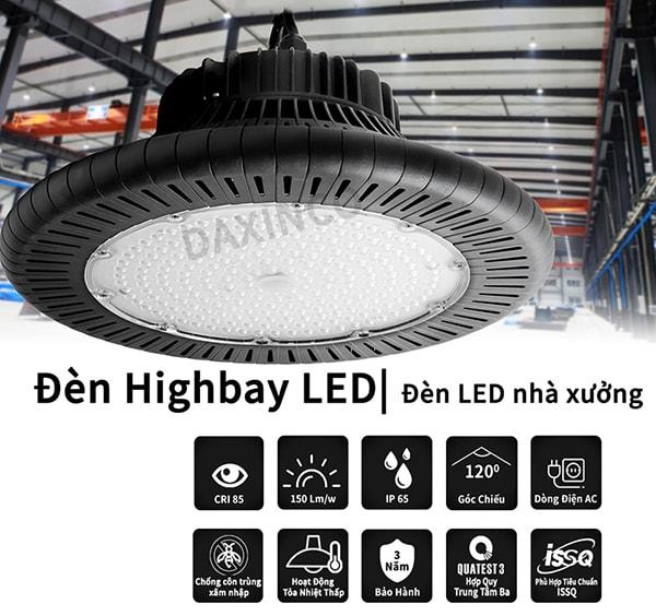 Đèn led highbay là dòng sản phẩm được đánh giá cao