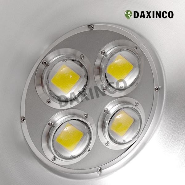 Đèn led nhà xưởng 200W - 4 trụ - Daxinco-5