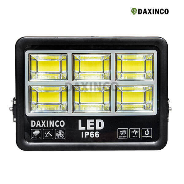 Đèn pha led 200W chip COB Daxinco
