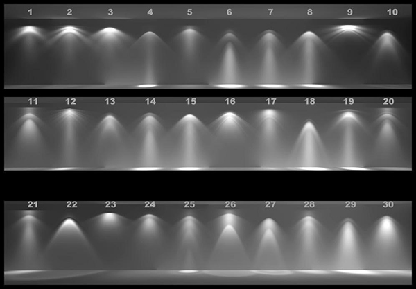 Mỗi tệp IES sẽ chứa mọi thông tin của mỗi bộ thiết bị đèn chiếu sáng