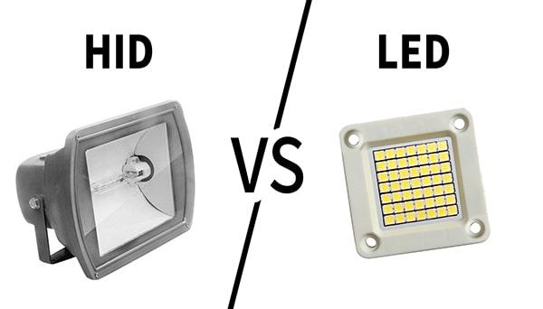 So sánh đèn HID và LED