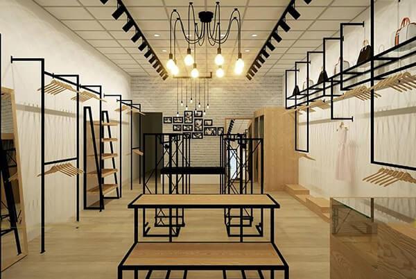 Đèn ray - đèn bulb cho shop thời trang