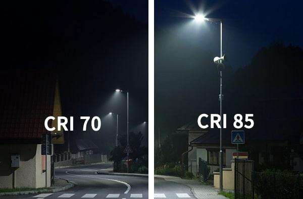 so sánh CRI là chỉ số hoàn màu
