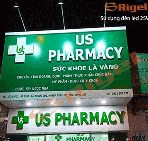 biển quảng cáo tiệm thuốc