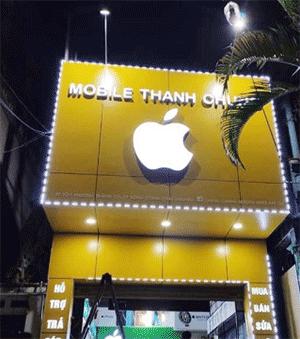 biển quảng cáo cho shop điện thoại