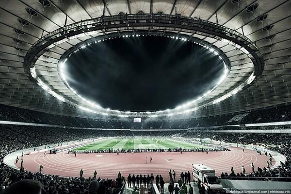 Đèn LED chiếu sáng sân vận động