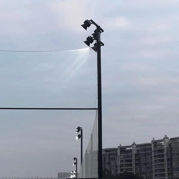 Đèn pha treo chiếu xa cho sân bóng -1
