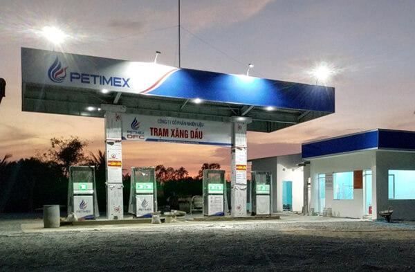 Cung cấp đèn trạm xăng dầu