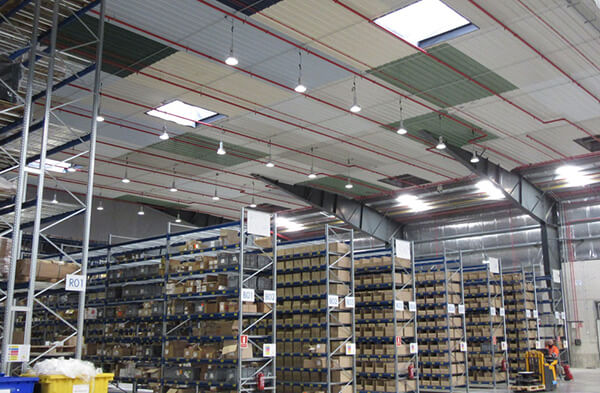 Tận dụng ánh sáng tự nhiên cho nhà xưởng