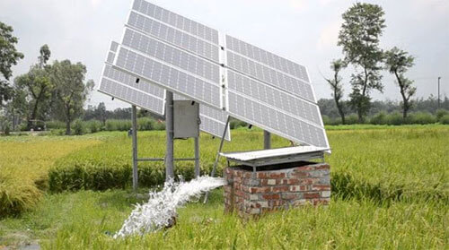 Ứng dụng điện mặt trời cho tưới tiêu