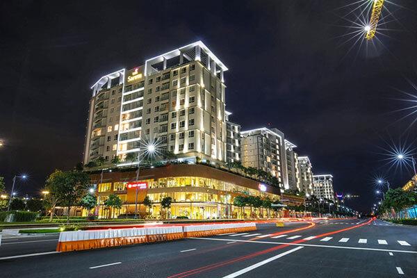 Hệ thống chiếu sáng LED khu đô thị