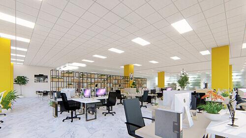 Tiêu chuẩn ánh sáng làm việc văn phòng khác tiêu chuẩn chiếu sáng trong nhà thế nào?